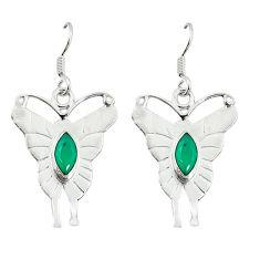 g silver dangle earrings jewelry d2035