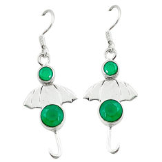 Clearance Sale- g silver umbrella earrings jewelry d2041