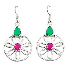 Clearance Sale- ling silver dangle earrings d2135