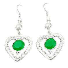 Clearance Sale- earl 925 silver dangle earrings d2195