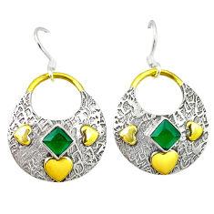 25 silver two tone dangle earrings d2366
