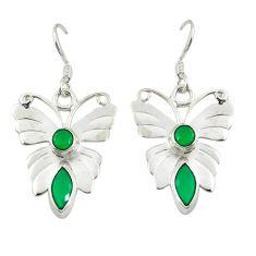 925 sterling silver green emerald quartz butterfly earrings jewelry d25313