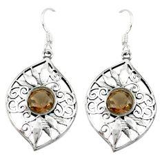 Clearance Sale- z 925 sterling silver dangle earrings jewelry d3044