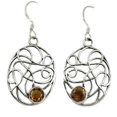 Clearance Sale- z 925 sterling silver dangle earrings jewelry d3074