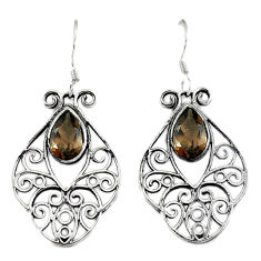 Clearance Sale- z 925 sterling silver dangle earrings jewelry d3076