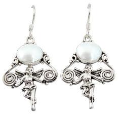 Clearance Sale- arl 925 sterling silver cupid angel wings earrings jewelry d3115