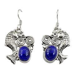 erling silver fish earrings jewelry d3120