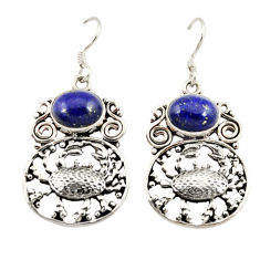 Clearance Sale- erling silver crab earrings jewelry d3129