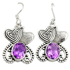 Clearance Sale- ling silver couple hearts earrings jewelry d3132