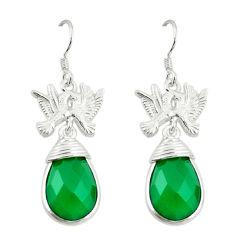 n chalcedony love birds earrings jewelry d3398