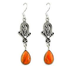 Clearance Sale- urquoise pear dangle earrings jewelry d3439