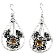 Clearance Sale- z 925 sterling silver dangle earrings jewelry d3475