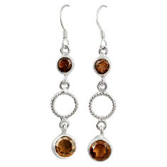 Clearance Sale- z 925 sterling silver dangle earrings jewelry d4612