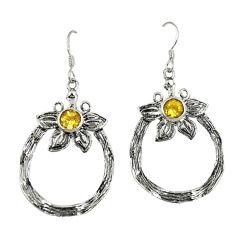 Clearance Sale- ing silver flower earrings jewelry d4729