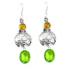 Clearance Sale- rine 925 sterling silver dangle earrings d4856