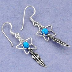 Clearance Sale- rquoise dreamcatcher earrings jewelry d5090