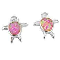 Clearance Sale- ilver tortoise earrings jewelry d5105