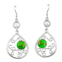 Clearance Sale- rl 925 sterling silver dangle earrings d6415
