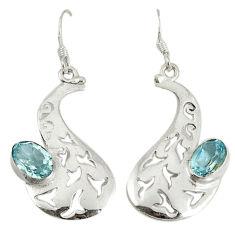 Clearance Sale- az 925 sterling silver dangle earrings jewelry d6535