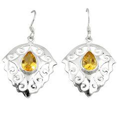 Clearance Sale- itrine 925 sterling silver dangle earrings jewelry d6551