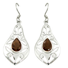 Clearance Sale- z 925 sterling silver dangle earrings jewelry d6599