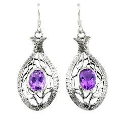 ling silver dangle earrings jewelry d6612