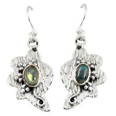 Clearance Sale- moonstone 925 sterling silver dangle earrings d6803