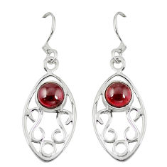 Clearance Sale- et round 925 sterling silver dangle earrings jewelry d6814