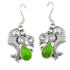 Clearance Sale- ing silver fish earrings jewelry d6871