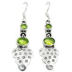 Clearance Sale- ridot 925 sterling silver dangle earrings jewelry d6926