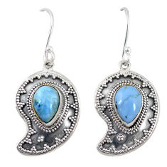 Clearance Sale- moonstone 925 sterling silver dangle earrings jewelry d6965