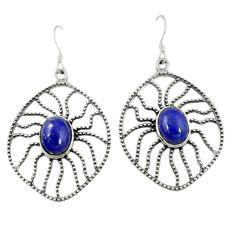Clearance Sale-  lapis lazuli dangle earrings jewelry d7100