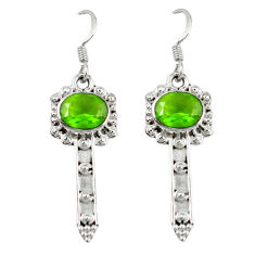 Clearance Sale- artz 925 sterling silver dangle earrings jewelry d7148