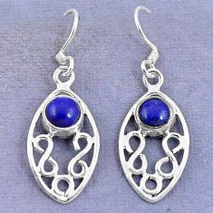 Clearance Sale- erling silver dangle earrings d9436