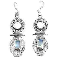 Clearance Sale- erling silver dangle earrings d9571