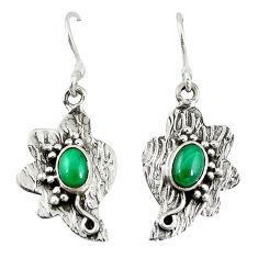 lachite (pilot's stone) 925 silver earrings jewelry d9594