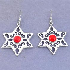 Clearance Sale- 925 sterling silver dangle earrings jewelry d9793