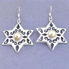 Clearance Sale- arl 925 sterling silver dangle earrings jewelry d9797