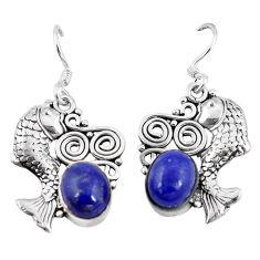 erling silver fish earrings jewelry d9892