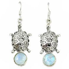 Clearance Sale- erling silver tortoise earrings d9963