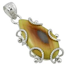 Clearance Sale- perial jasper 925 sterling silver pendant jewelry d1098