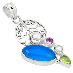 pearl 925 sterling silver pendant d1135