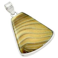 Clearance Sale-  striped flint ohio pendant jewelry d14635