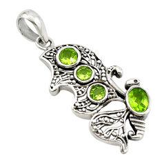 n peridot pendant jewelry d14685