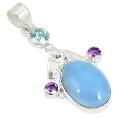 hee opal amethyst 925 sterling silver pendant jewelry d22891