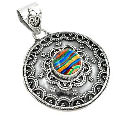Clearance Sale- ilica 925 sterling silver pendant d2662