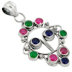 5 sterling silver pendant jewelry d7377