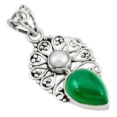 Clearance Sale- earl 925 sterling silver pendant jewelry d7863