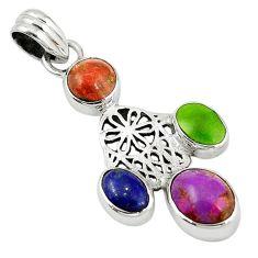 Clearance Sale-  silver hand of god hamsa pendant jewelry d7872