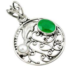 Clearance Sale- earl 925 sterling silver pendant jewelry d8656